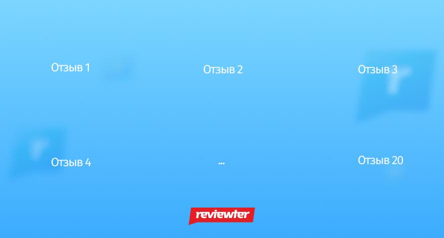 пакетное предложение Reviewter